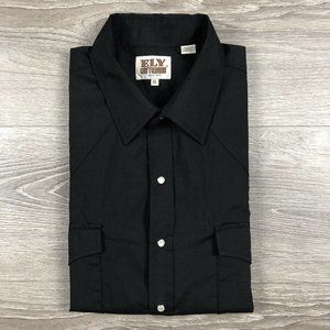 Ely Cattleman Western Pearl Snap Button Up Shirt